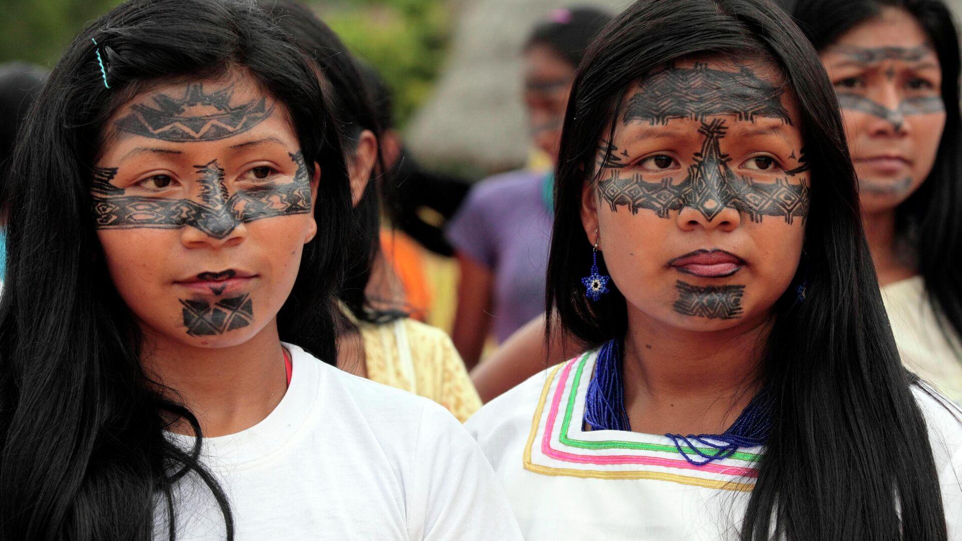 Indígenas de Sarayaku - Sputnik Mundo, 1920, 20.09.2021