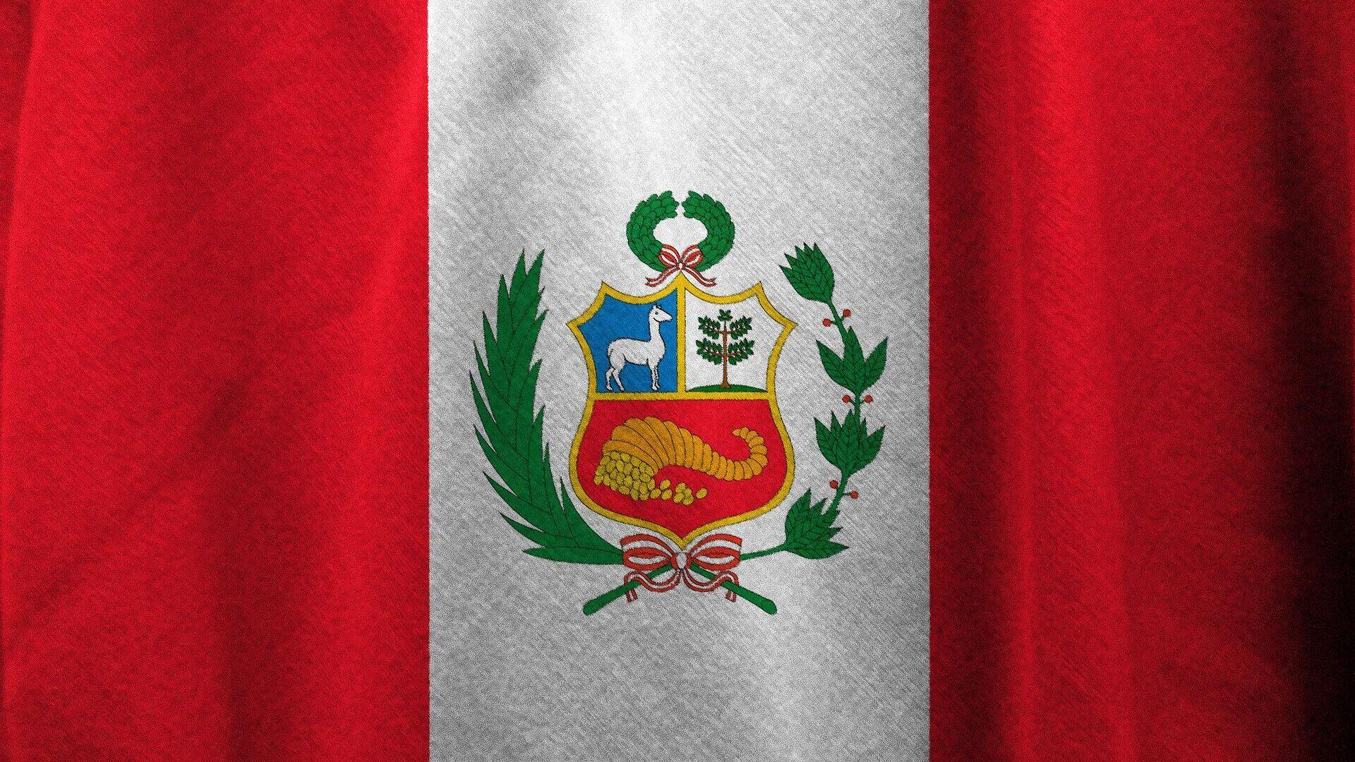 Bandera de Perú. Imagen referencial - Sputnik Mundo, 1920, 06.10.2021