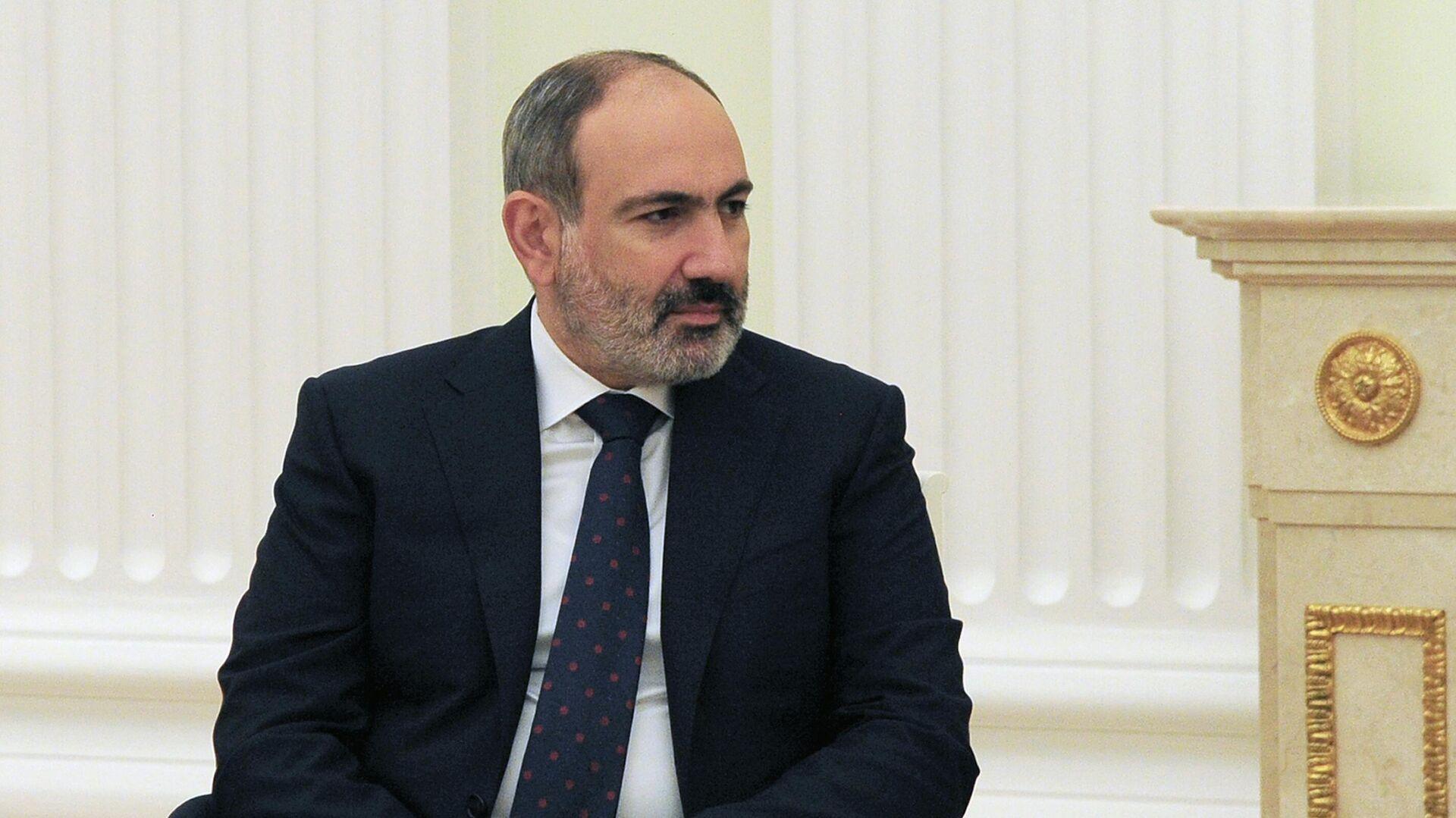 Nikol Pashinián, primer ministro de Armenia - Sputnik Mundo, 1920, 02.08.2021
