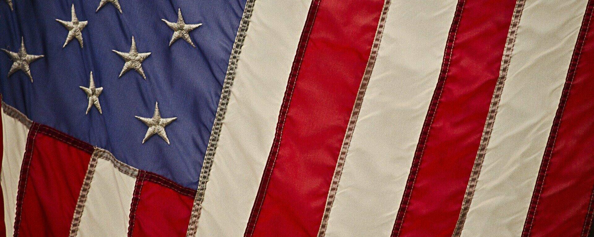 Bandera de EEUU - Sputnik Mundo, 1920, 04.10.2021