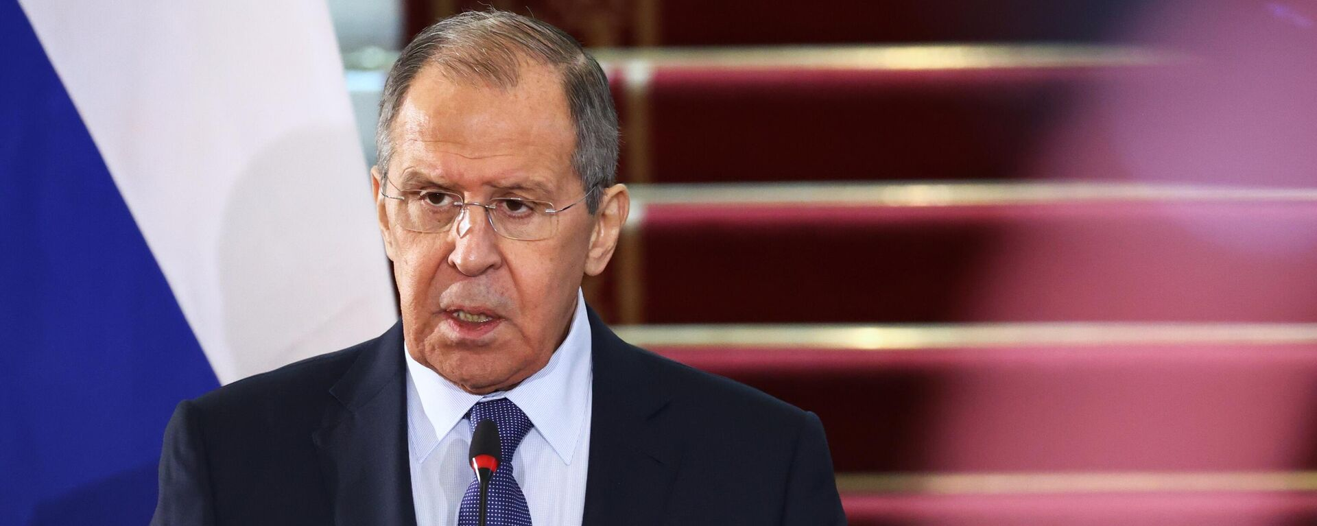 Serguéi Lavrov, ministro de Exteriores de Rusia - Sputnik Mundo, 1920, 15.09.2021