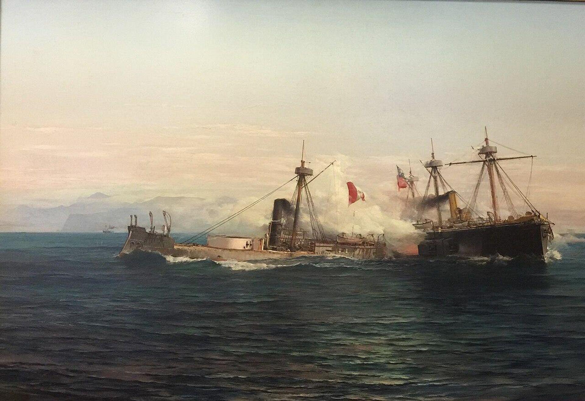 Combate naval de Angamos - Sputnik Mundo, 1920, 07.10.2021