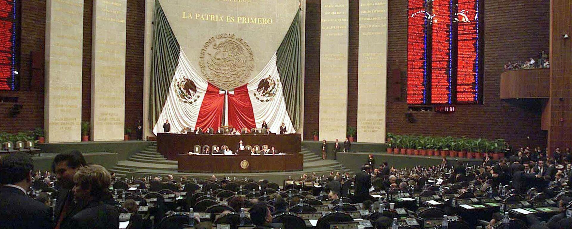 Cámara de Diputados de México - Sputnik Mundo, 1920, 31.08.2021