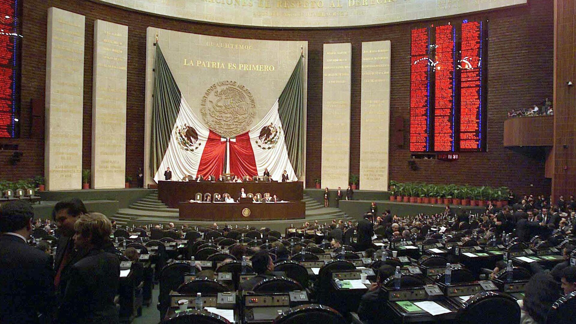 Cámara de Diputados de México - Sputnik Mundo, 1920, 17.08.2021