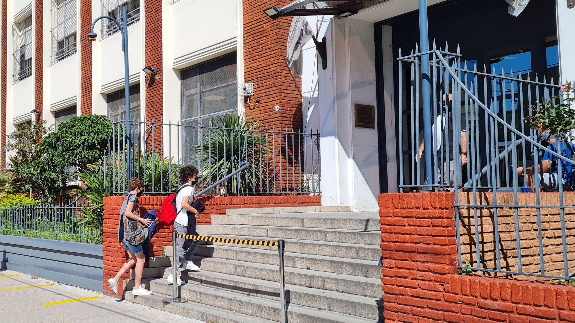 El Gobierno porteño autorizó las clases en las escuelas en rechazo al decreto presidencial - Sputnik Mundo, 1920, 06.10.2021