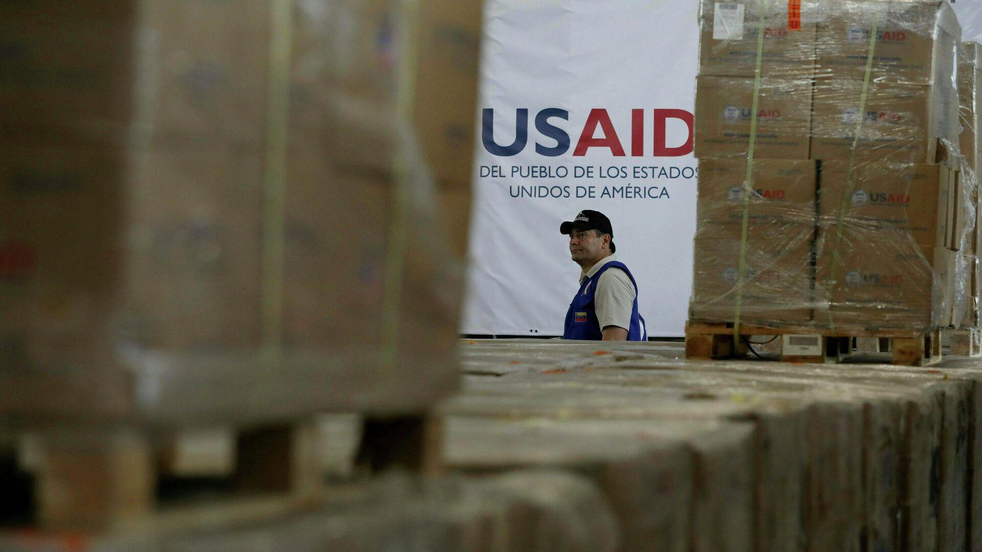 Ayuda humanitaria de USAID - Sputnik Mundo, 1920, 03.09.2021
