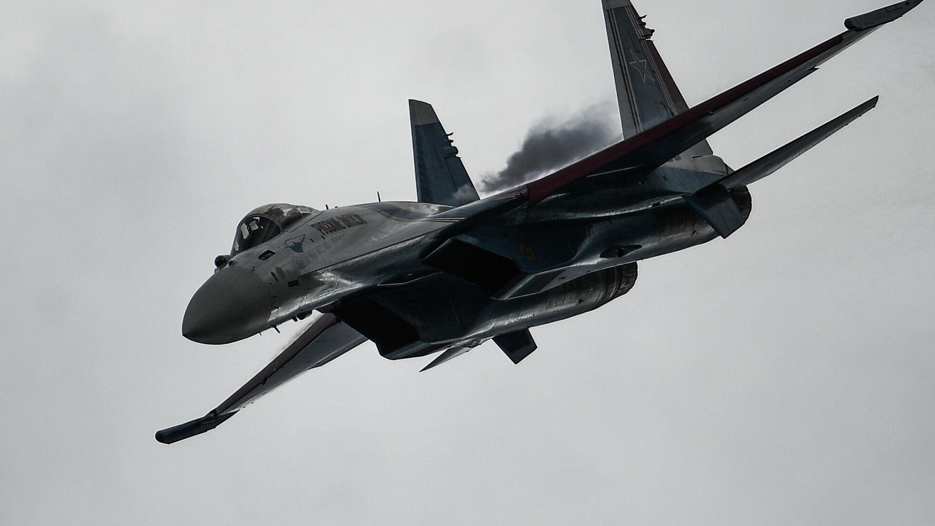Caza ruso Su-35S - Sputnik Mundo, 1920, 31.08.2021