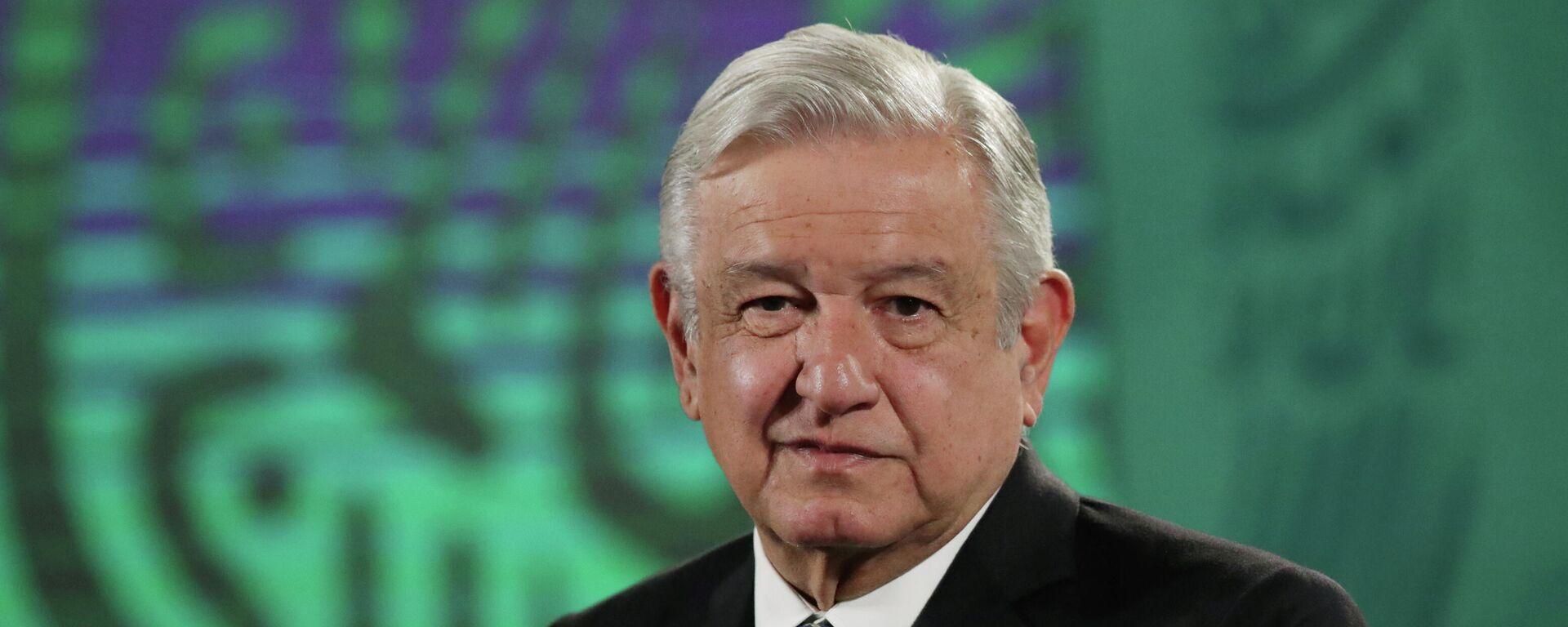 Andrés Manuel López Obrador, el presidente de México  - Sputnik Mundo, 1920, 03.06.2021