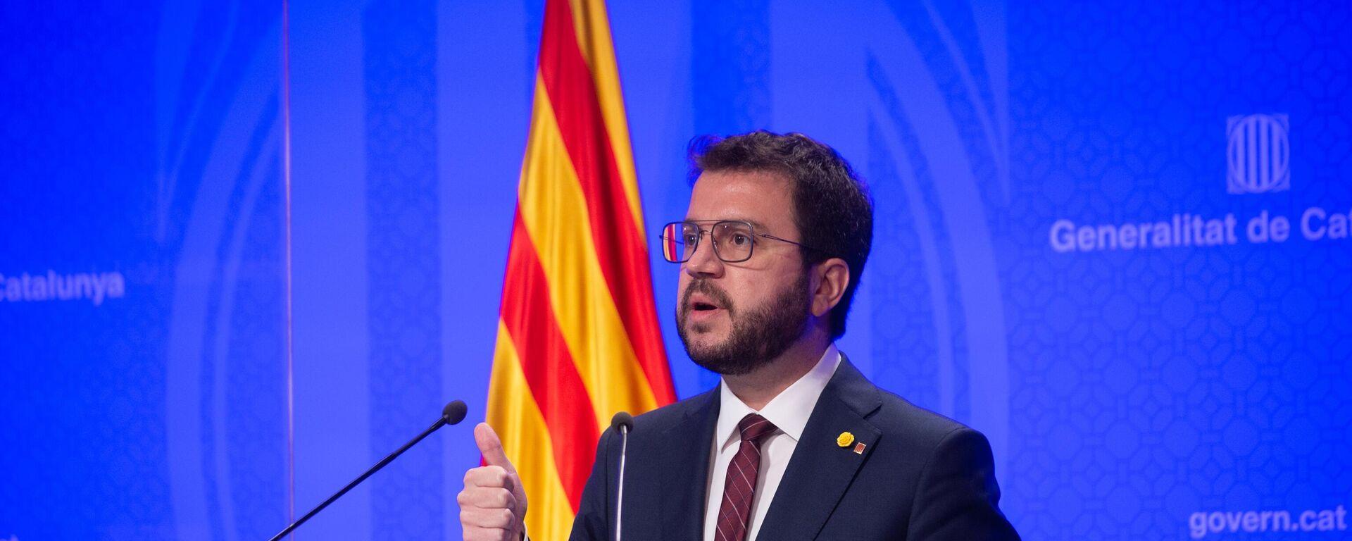 Pere Aragonès, vicepresidente de la Generalitat de Cataluña en funciones - Sputnik Mundo, 1920, 08.09.2021