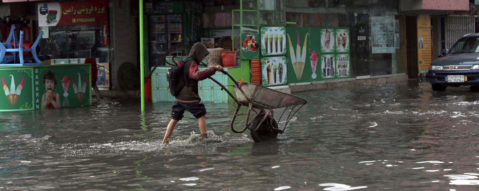 Inundación en Afganistán por las fuertes lluvias - Sputnik Mundo, 1920, 23.09.2021