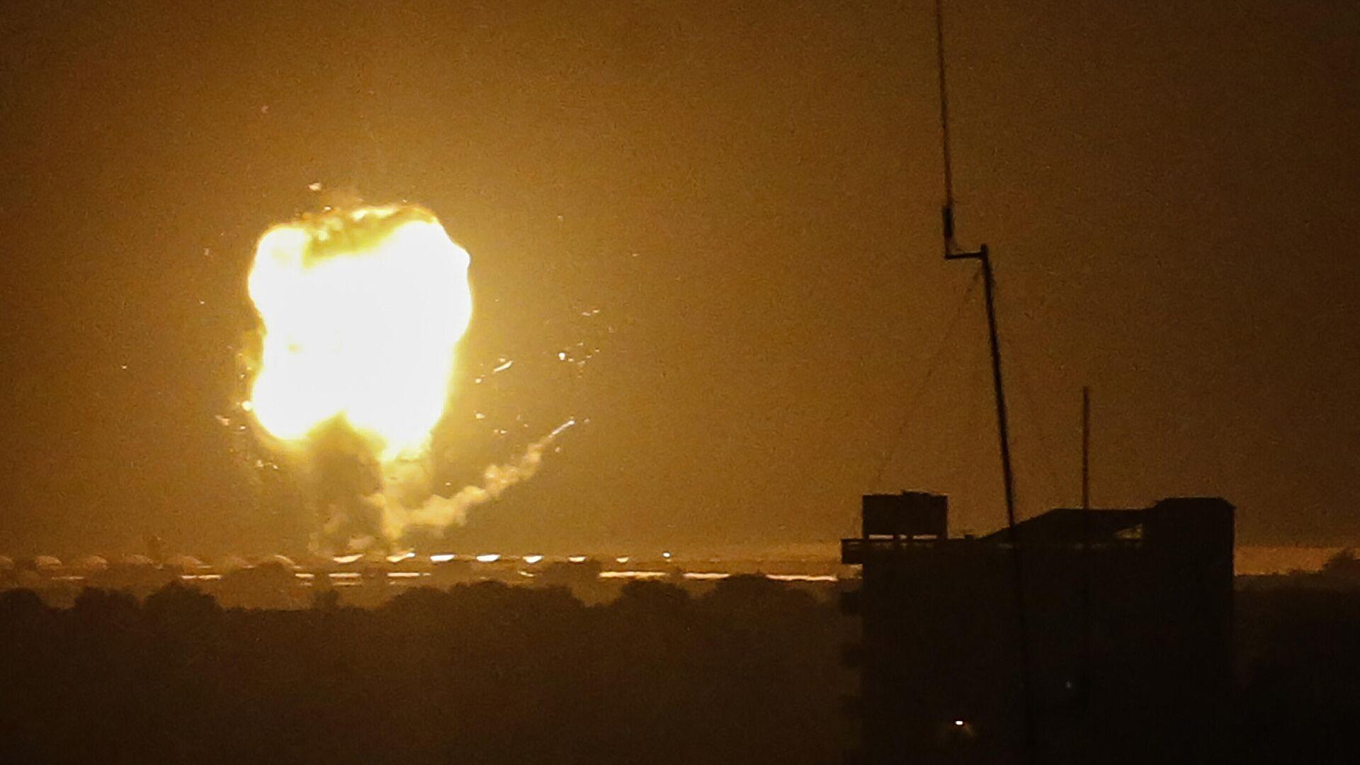 Bombardeo de la Franja de Gaza por Israel - Sputnik Mundo, 1920, 06.09.2021