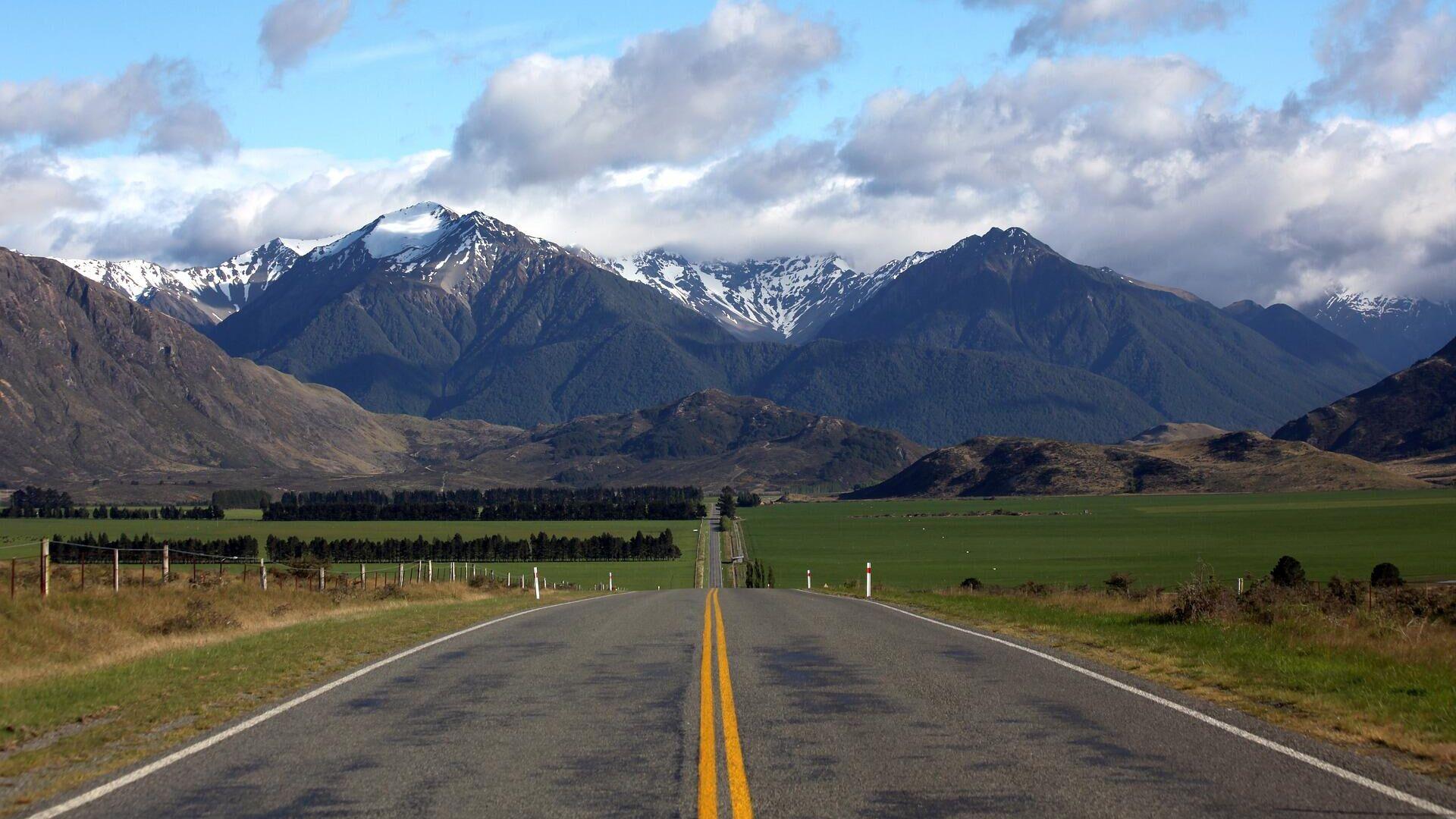 Una carretera de Nueva Zelanda - Sputnik Mundo, 1920, 24.07.2021
