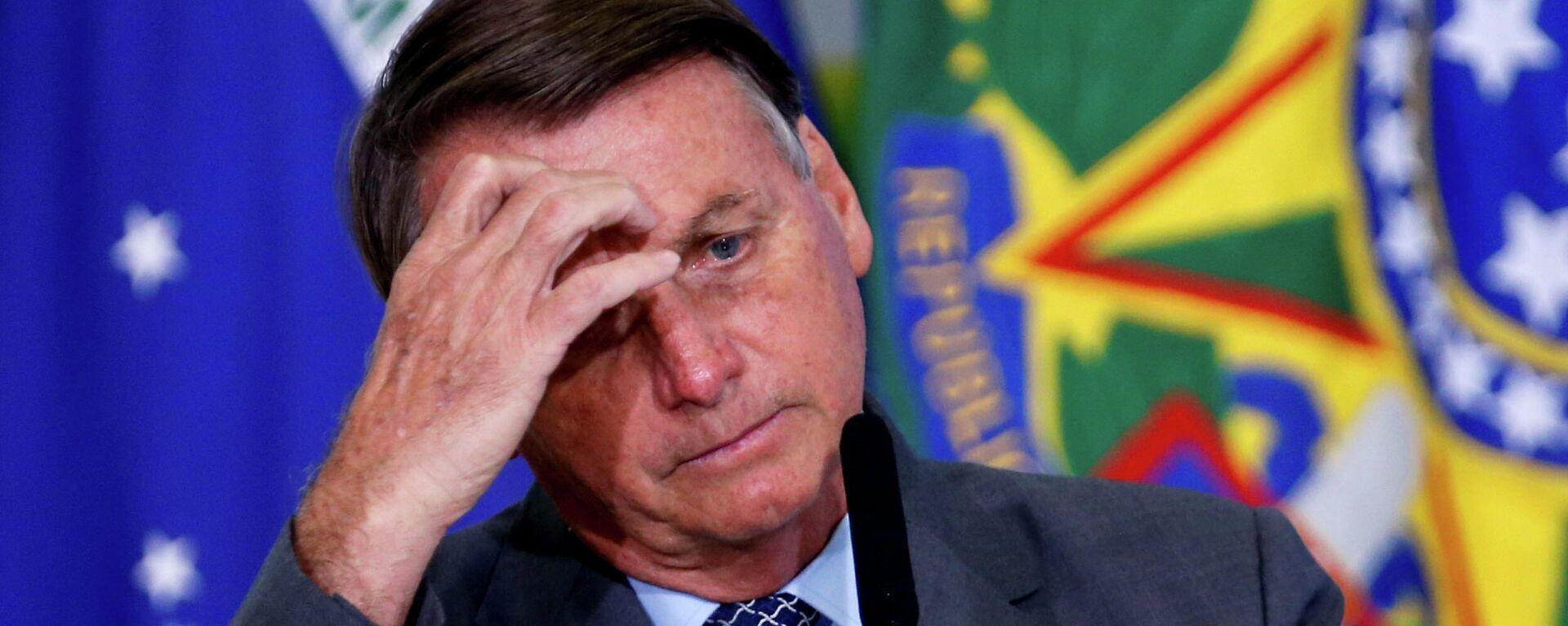 Jair Bolsonaro, presidente de Brasil - Sputnik Mundo, 1920, 01.06.2021