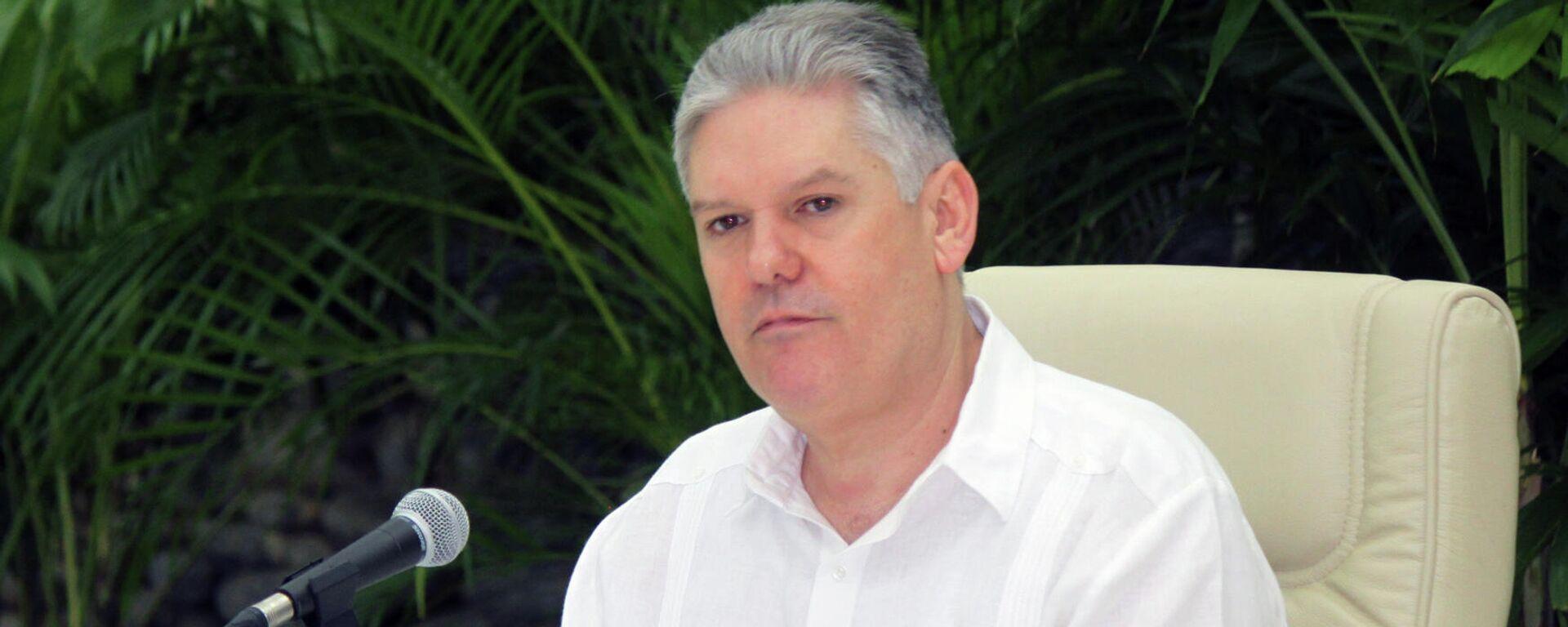 Alejandro Gil, vice primer ministro y titular de Economía de Cuba  - Sputnik Mundo, 1920, 23.05.2021