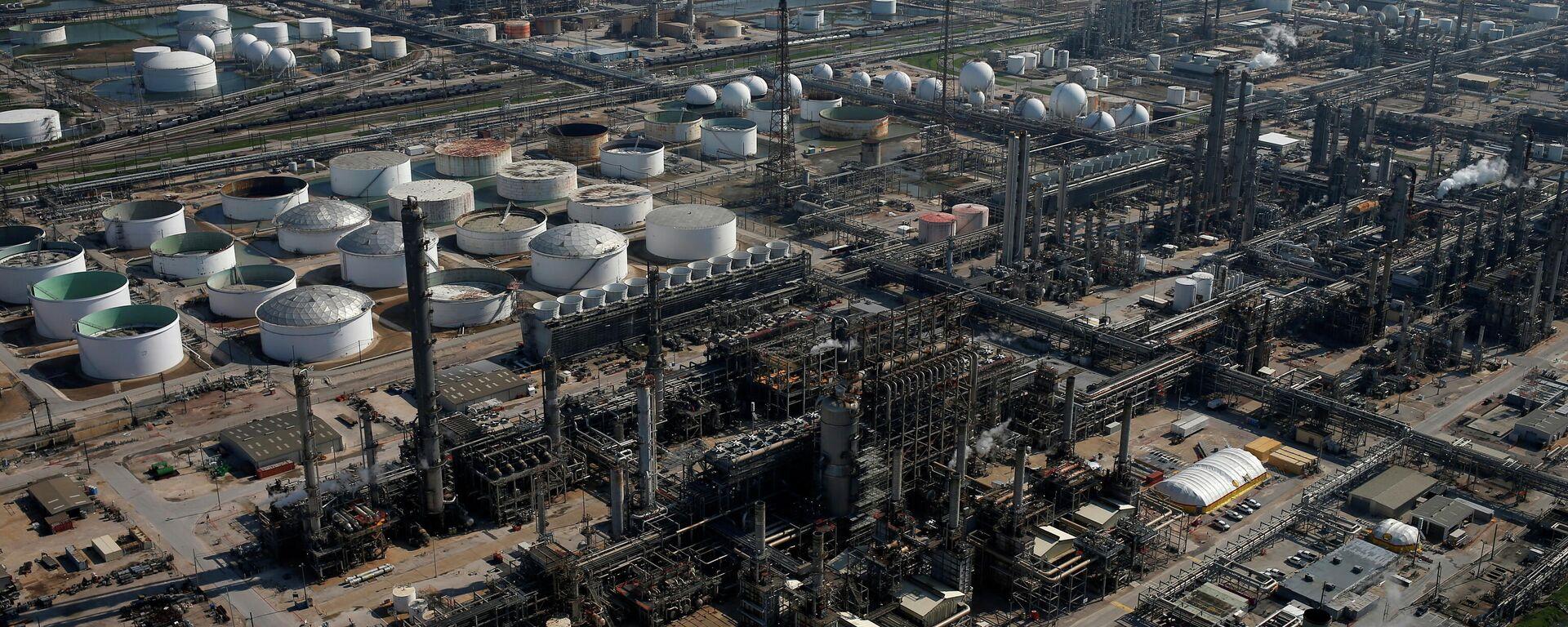 La refinería Deer Park en Texas, EEUU - Sputnik Mundo, 1920, 26.05.2021
