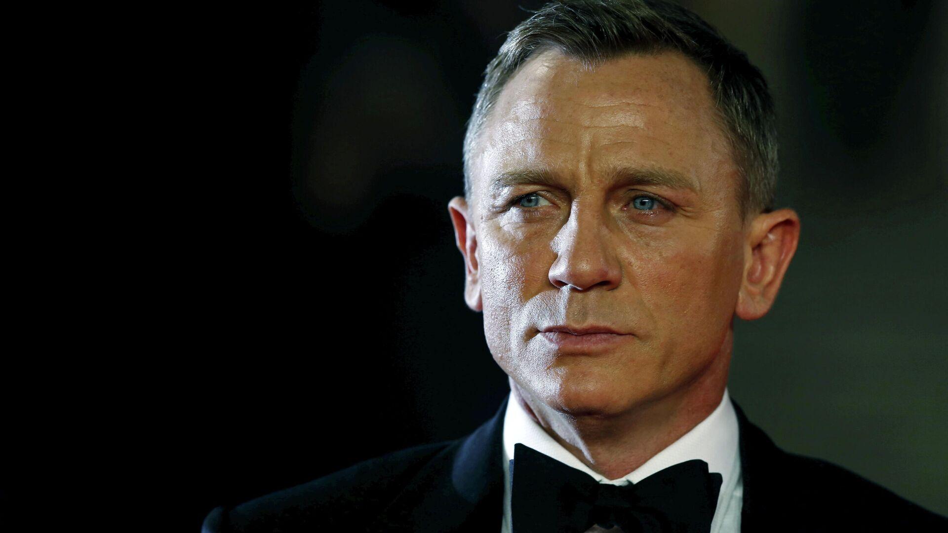 Daniel Craig, actor británico, en la ceremonia de estreno de la película Spectre - Sputnik Mundo, 1920, 30.09.2021