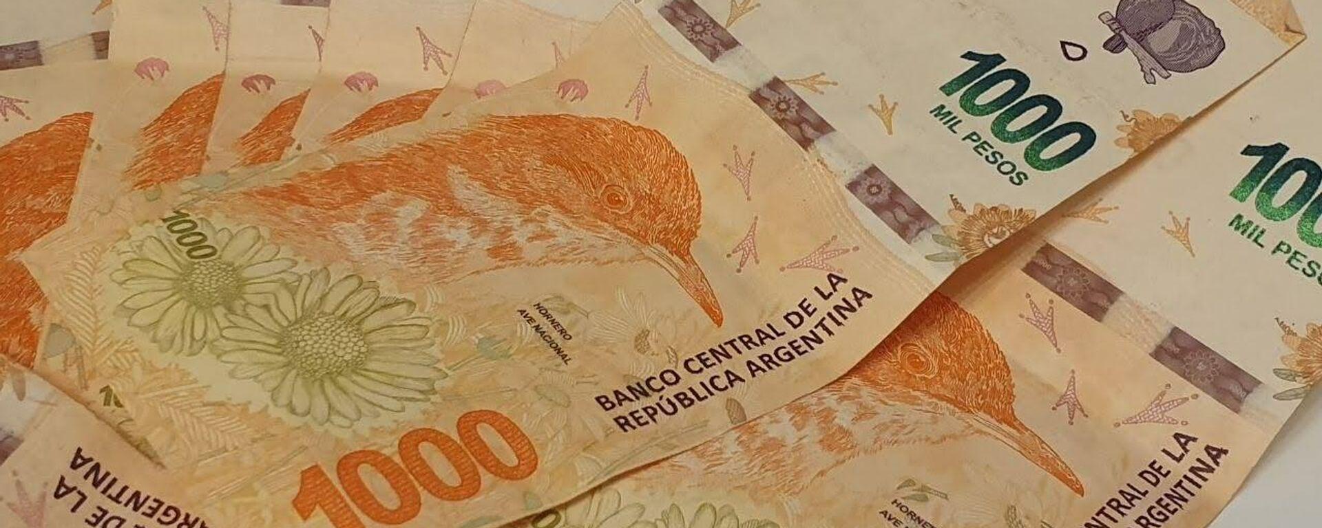 Pesos argentinos - Sputnik Mundo, 1920, 06.10.2021