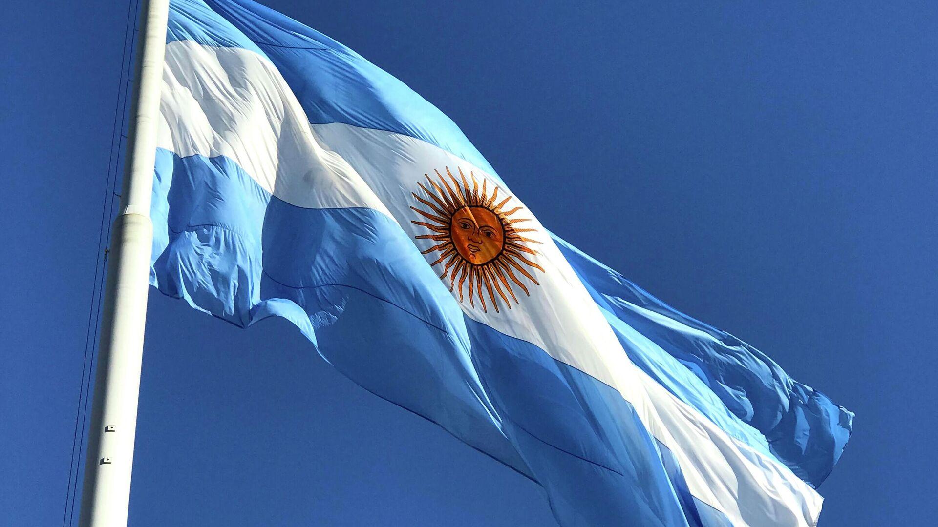 Bandera de Argentina - Sputnik Mundo, 1920, 04.10.2021