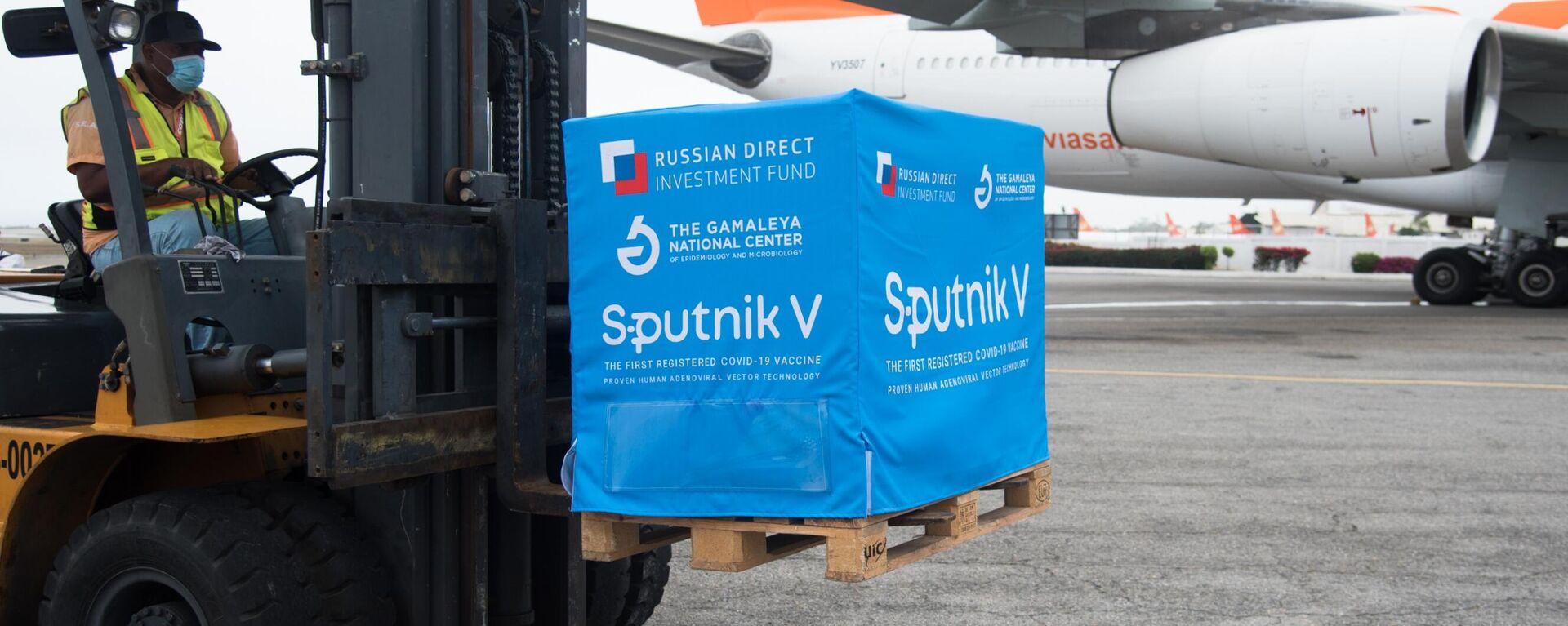 Arriba a Venezuela un cargamento de la vacuna rusa Sputnik V (Archivo) - Sputnik Mundo, 1920, 21.09.2021