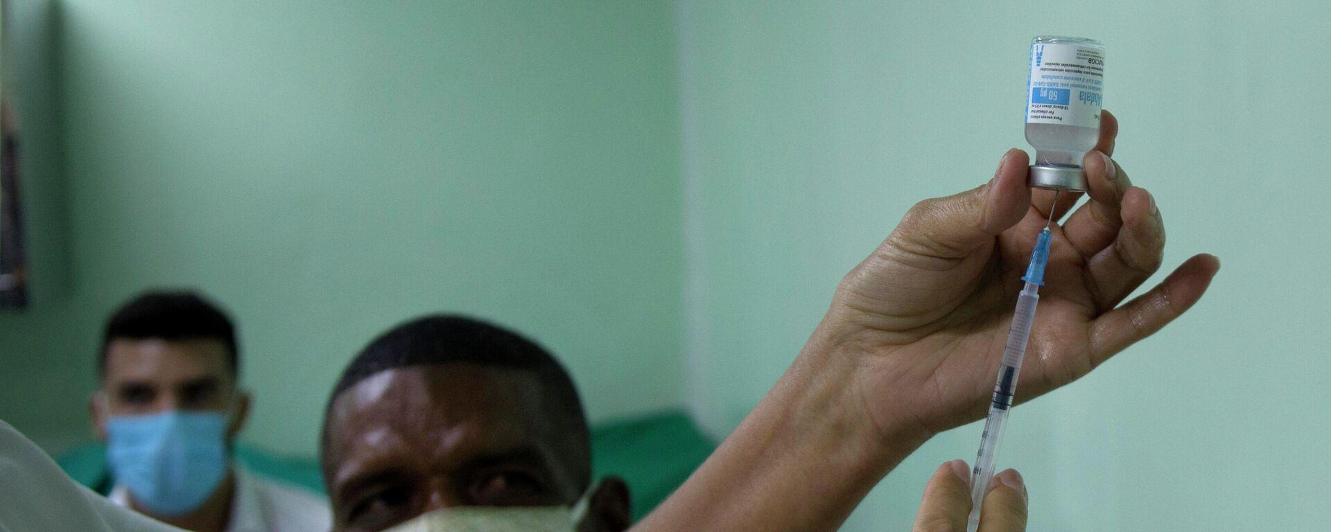 Vacuna cubana contra el coronavirus Abdala - Sputnik Mundo, 1920, 16.08.2021