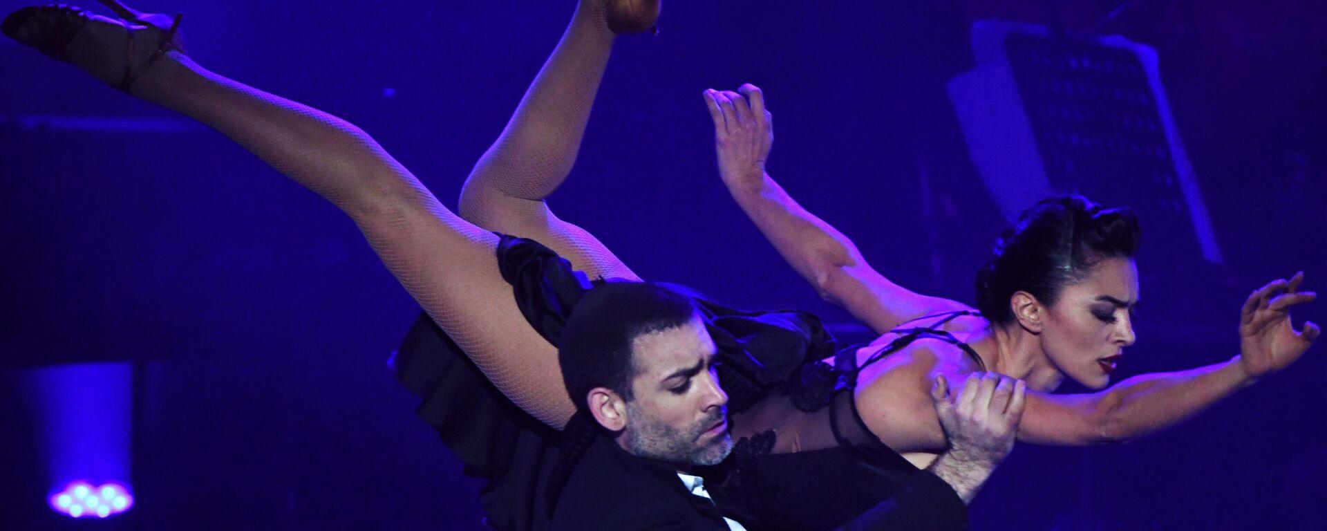 Espectáculo argentino 'Tango After Dark' en el Festival de Teatro Internacional Chéjov - Sputnik Mundo, 1920, 02.06.2021