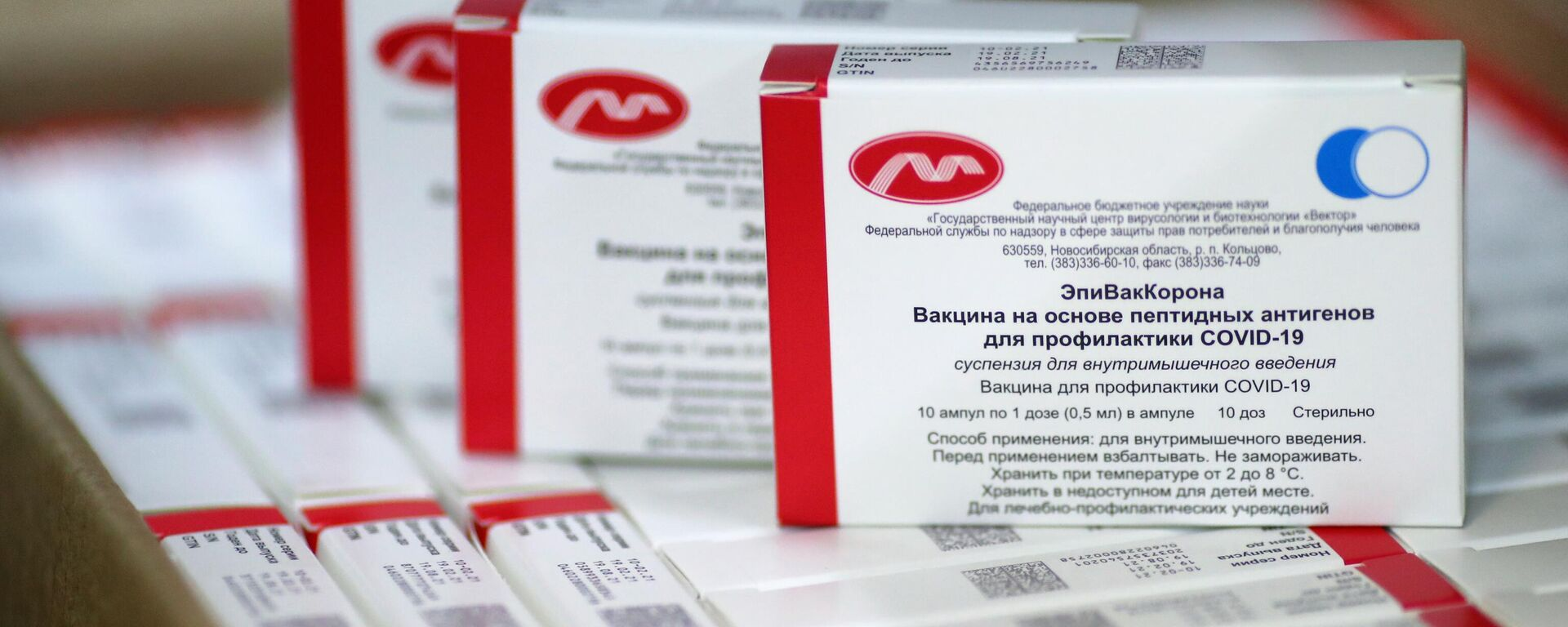 Vacuna anti-COVID rusa EpiVacCorona - Sputnik Mundo, 1920, 30.07.2021