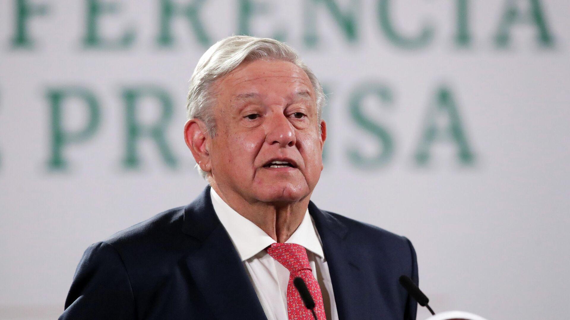 Andrés Manuel López Obrador, presidente de México - Sputnik Mundo, 1920, 10.09.2021