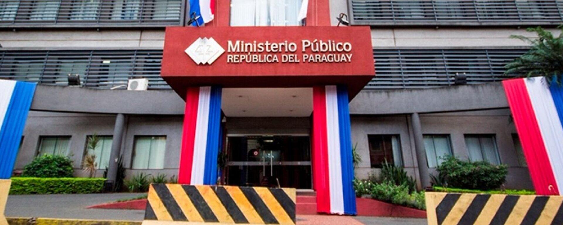 Ministerio Público de Paraguay - Sputnik Mundo, 1920, 29.09.2021