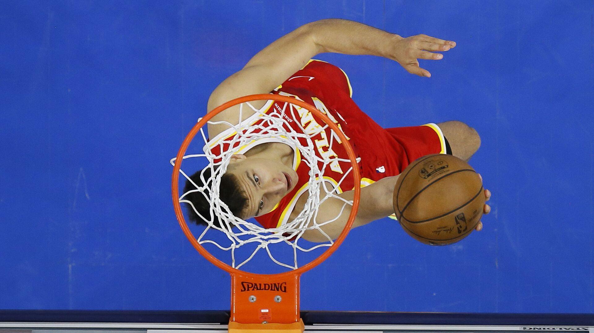 Un jugador de baloncesto (imagen referencial) - Sputnik Mundo, 1920, 29.09.2021