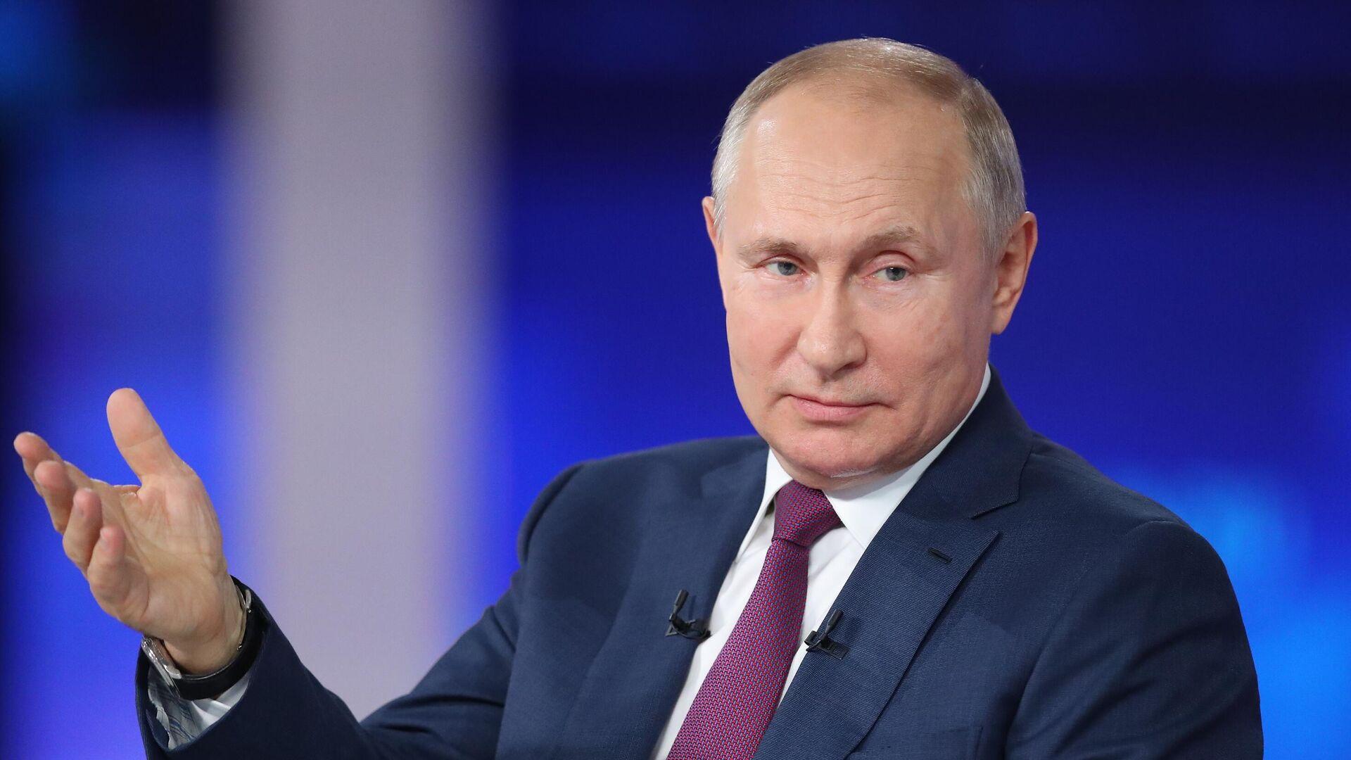Línea directa con Vladímir Putin 2021 - Sputnik Mundo, 1920, 12.08.2021