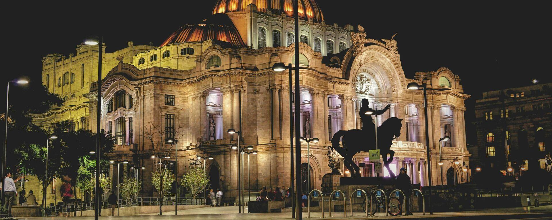 Palacio de Bellas Artes en Ciudad de México - Sputnik Mundo, 1920, 30.06.2021