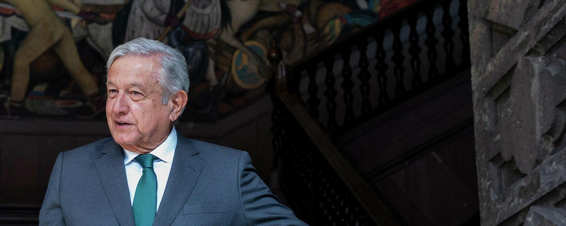 Andrés Manuel López Obrador, presiente de México - Sputnik Mundo, 1920, 01.07.2021