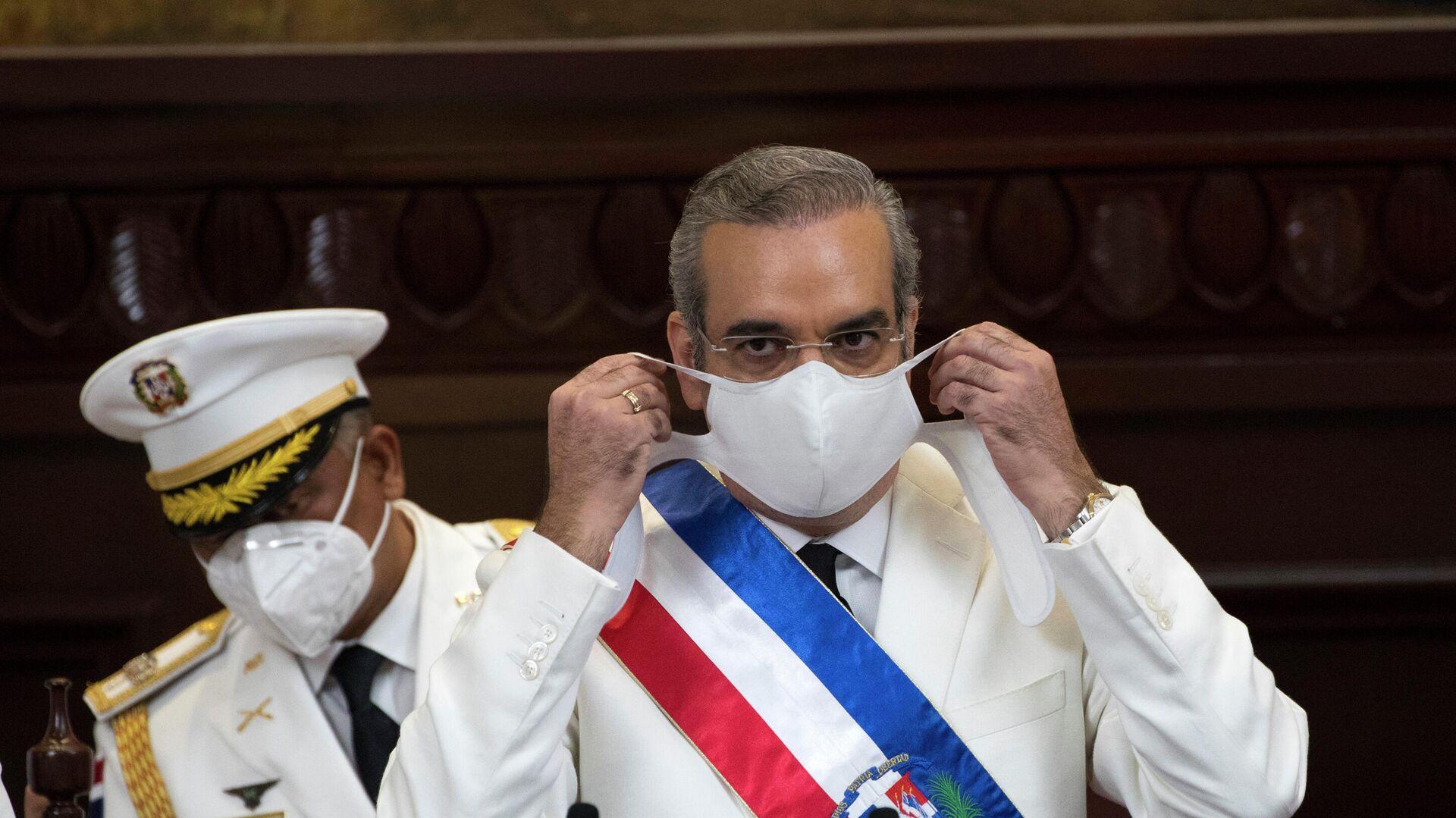 Luis Abinader, presidente de la República Dominicana - Sputnik Mundo, 1920, 03.10.2021