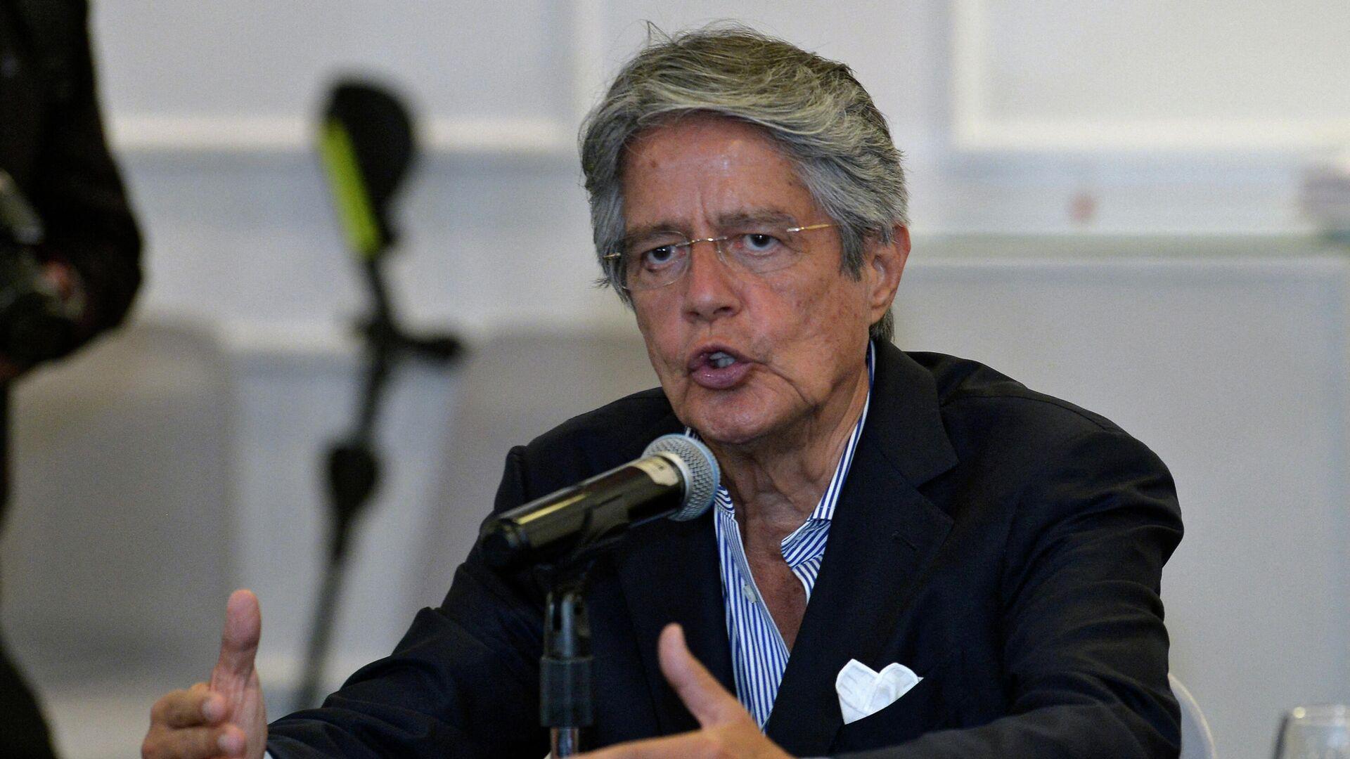 Guillermo Lasso, presidente de Ecuador - Sputnik Mundo, 1920, 05.08.2021