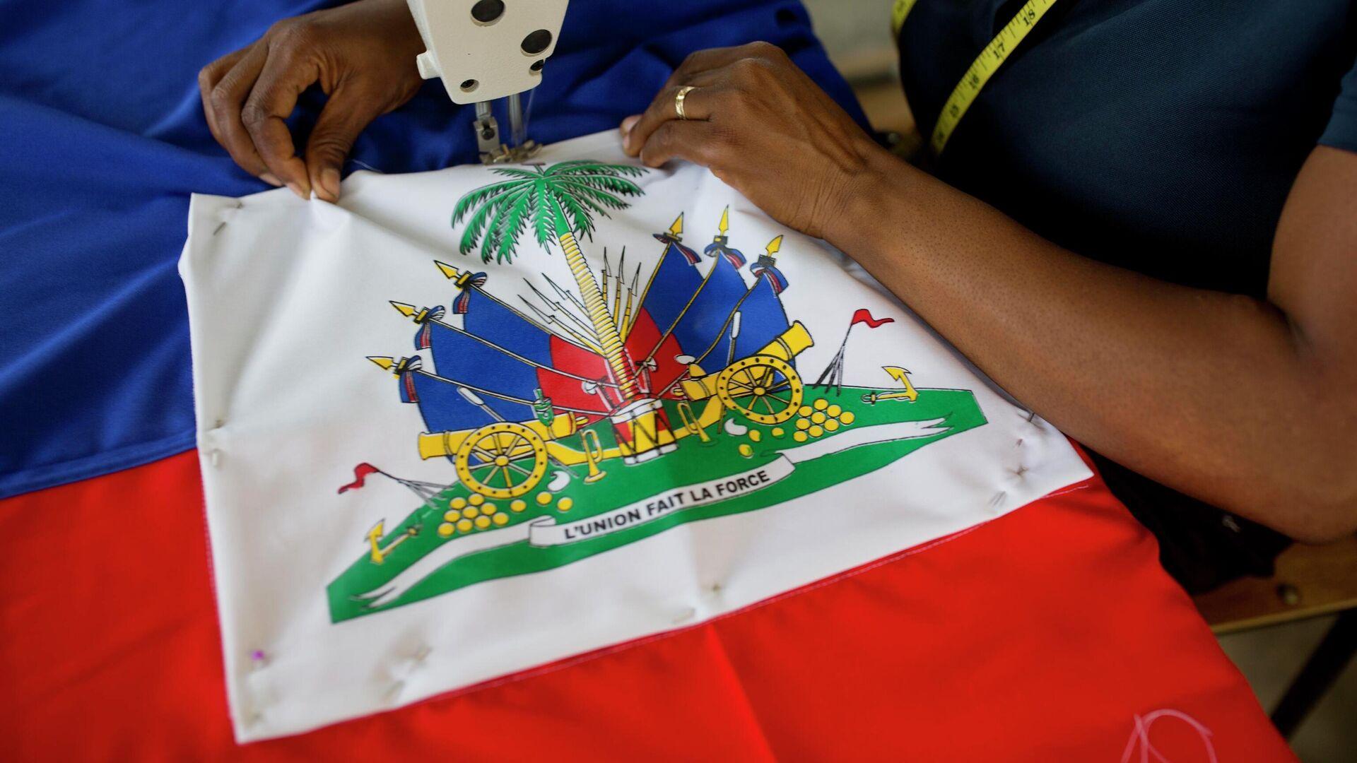 La bandera de Haití - Sputnik Mundo, 1920, 28.09.2021