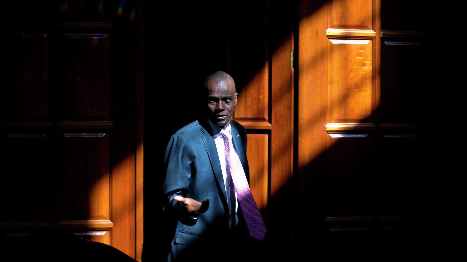 Jovenel Moise, expresidente de Haití - Sputnik Mundo, 1920, 07.10.2021
