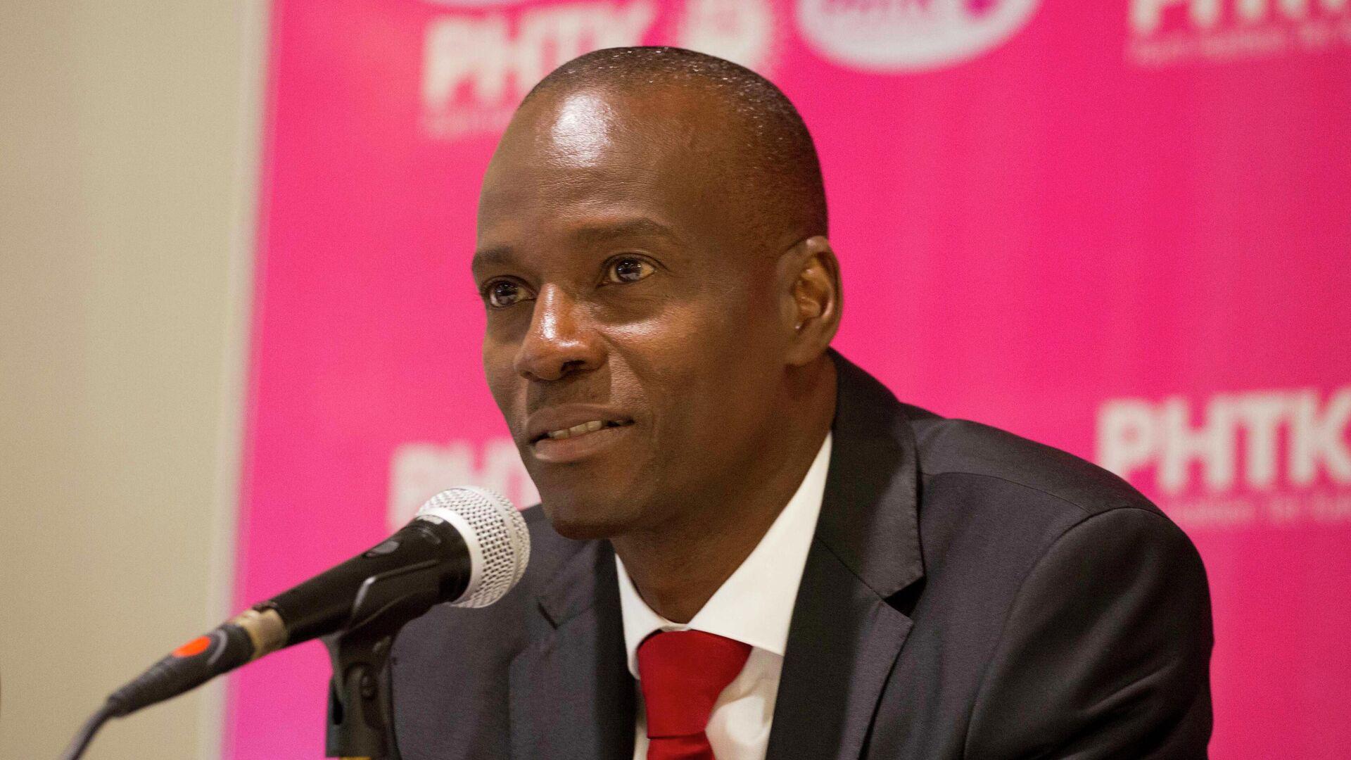 Jovenel Moise, presidente de Haiti entre 2017 y 2021 - Sputnik Mundo, 1920, 05.08.2021