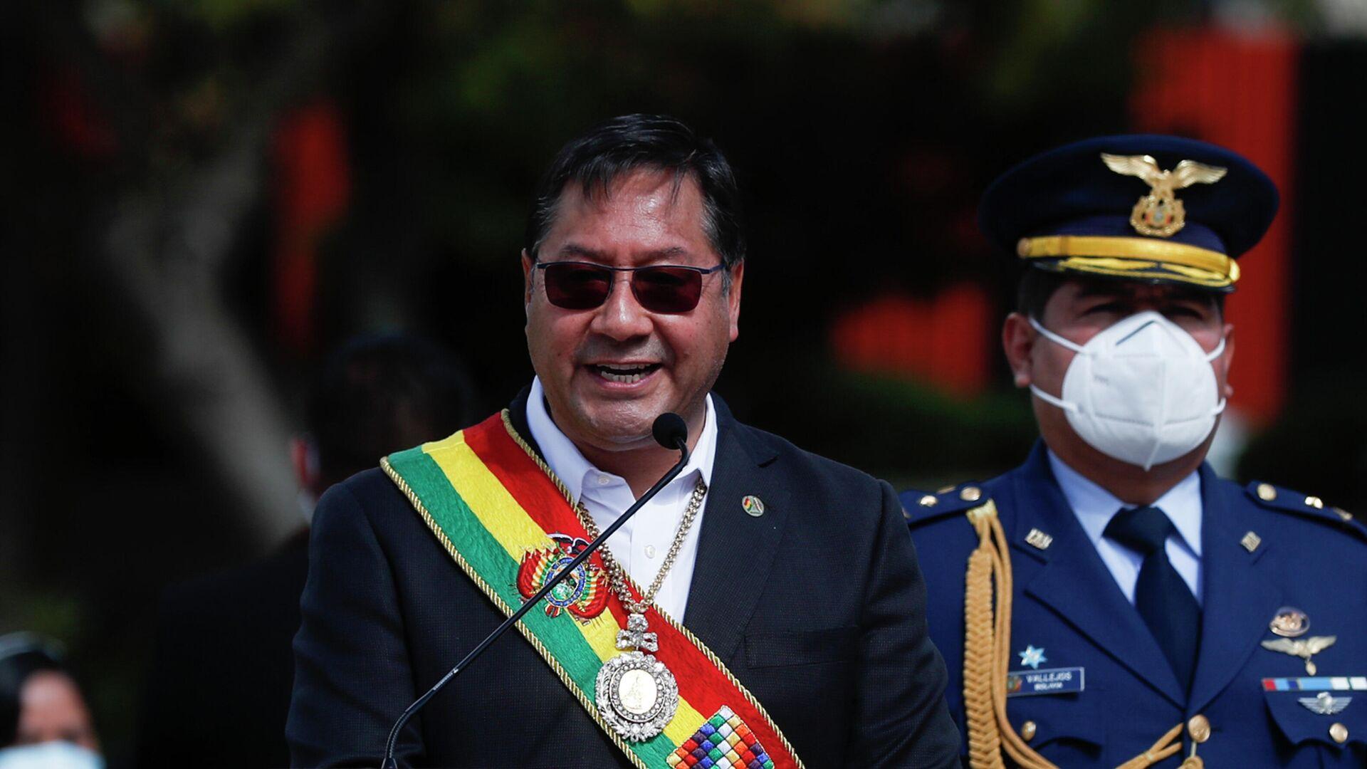 Luis Arce, presidente de Bolivia - Sputnik Mundo, 1920, 27.07.2021