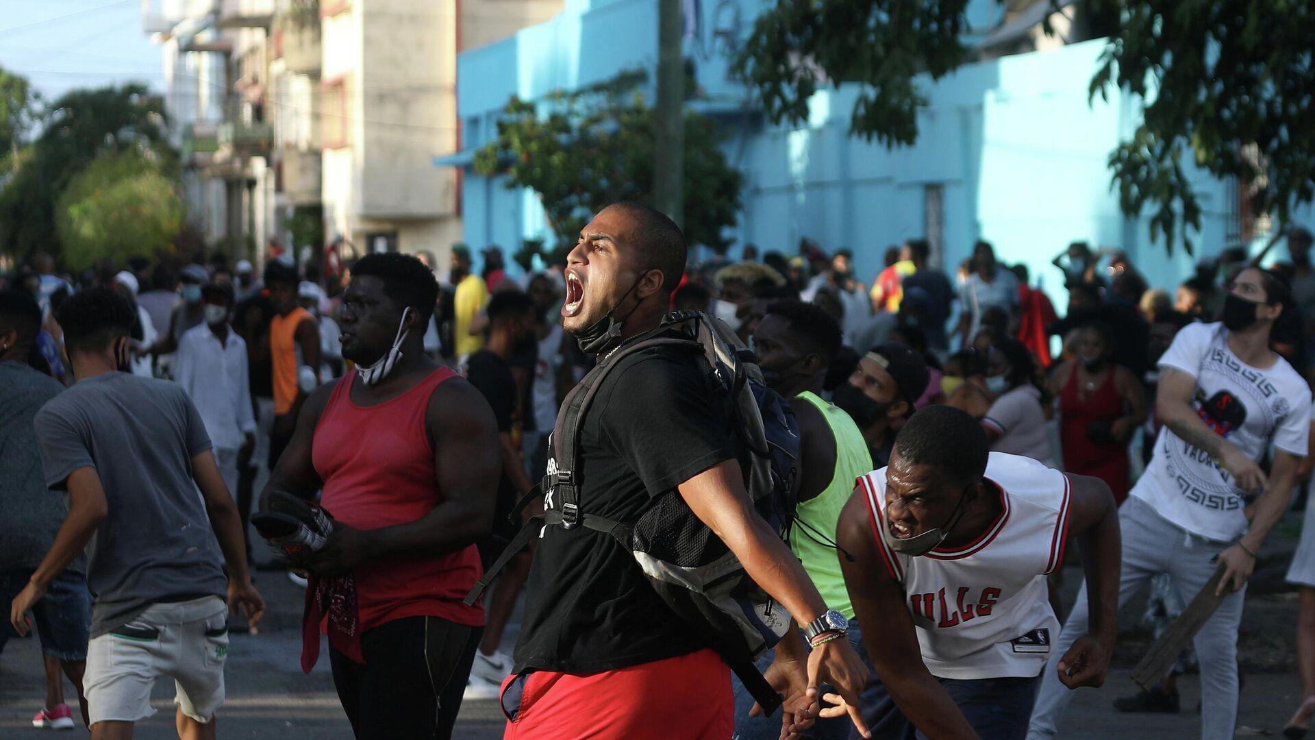 Protestas en La Habana  - Sputnik Mundo, 1920, 24.07.2021