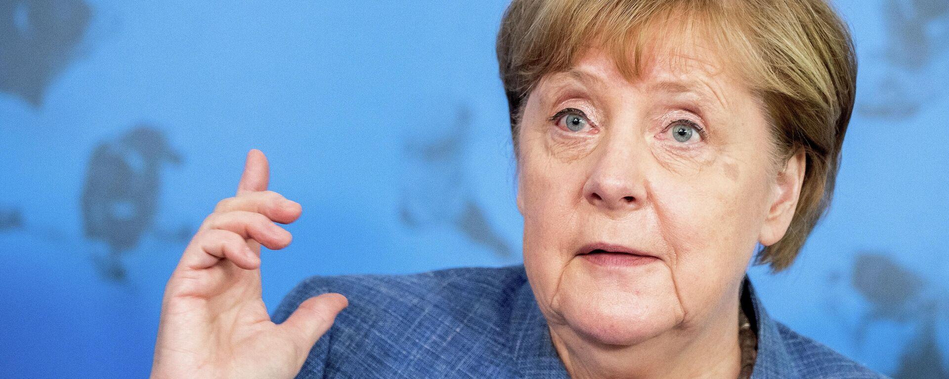 Angela Merkel, canciller alemana - Sputnik Mundo, 1920, 31.08.2021