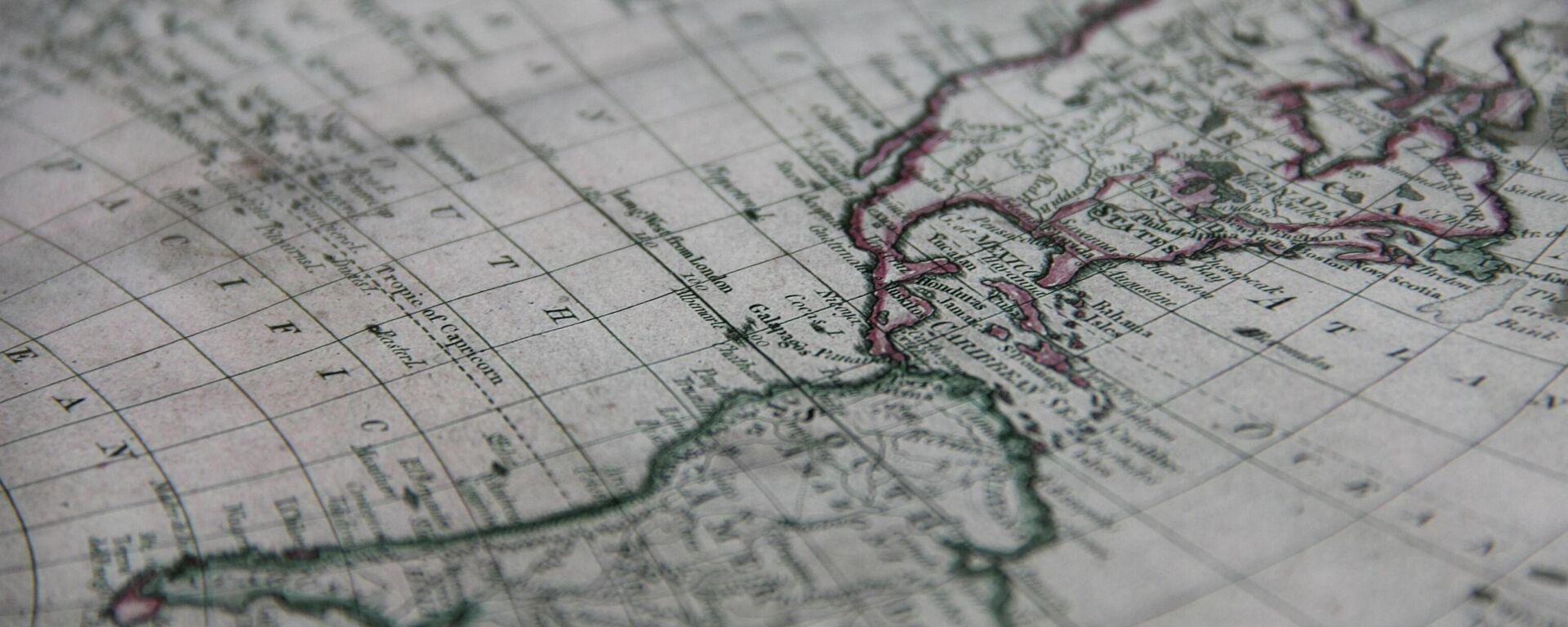 El mapa de América Latina - Sputnik Mundo, 1920, 06.10.2021