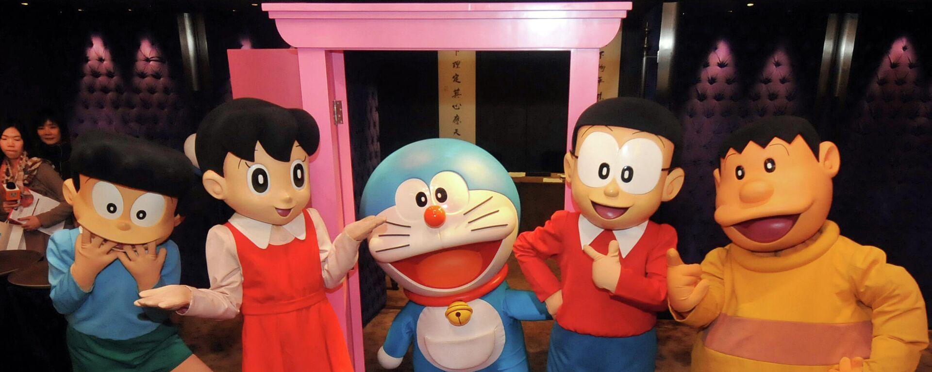 Unos personajes del dibujo animado Doraemon - Sputnik Mundo, 1920, 14.07.2021