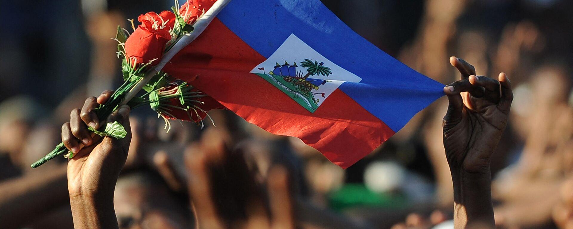La bandera de Haití - Sputnik Mundo, 1920, 15.07.2021