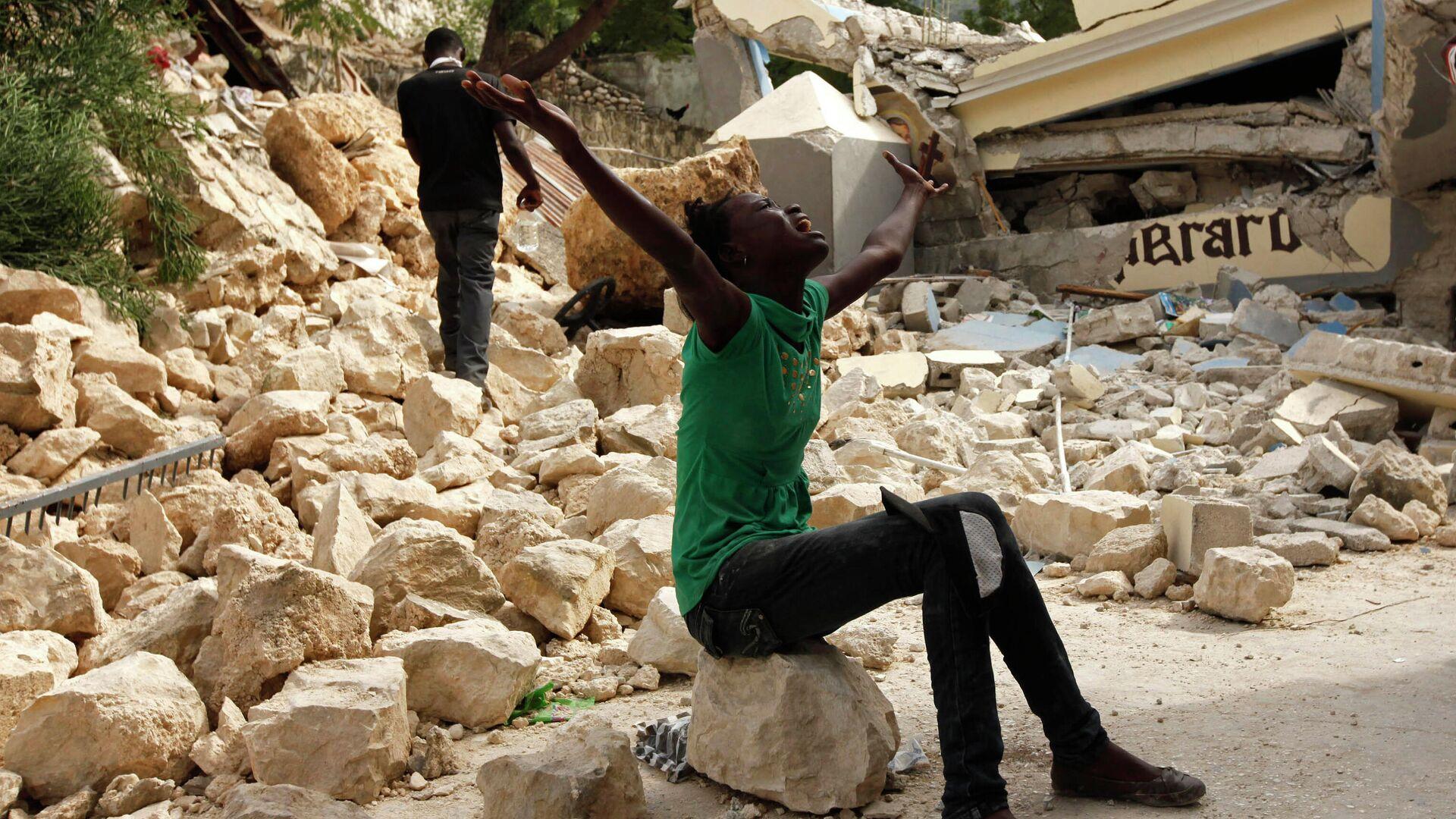 Las consecuencias del devastador terremoto de 2010 en Haití - Sputnik Mundo, 1920, 04.10.2021