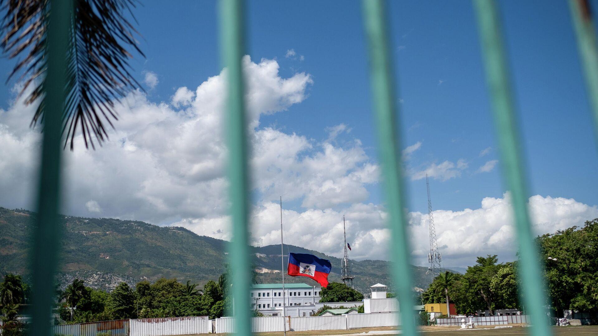 La bandera nacional de Haití  - Sputnik Mundo, 1920, 13.08.2021
