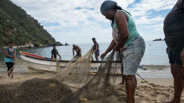 Pescadoras venezolanas - Sputnik Mundo