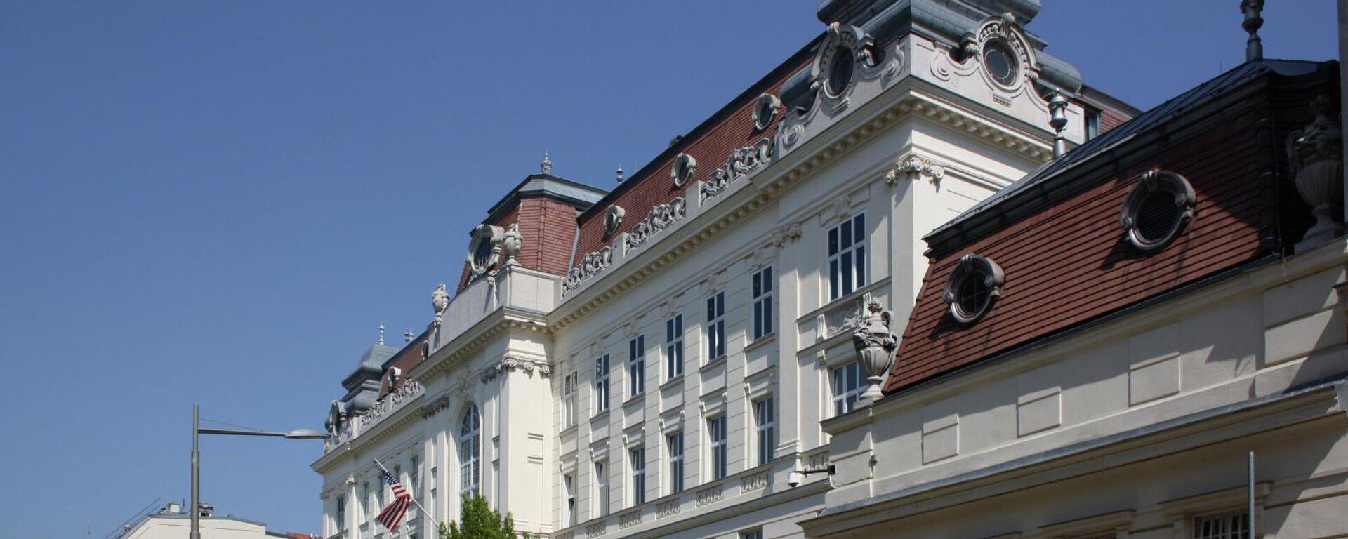 La embajada de EEUU en VIena, foto de archivo - Sputnik Mundo, 1920, 18.07.2021