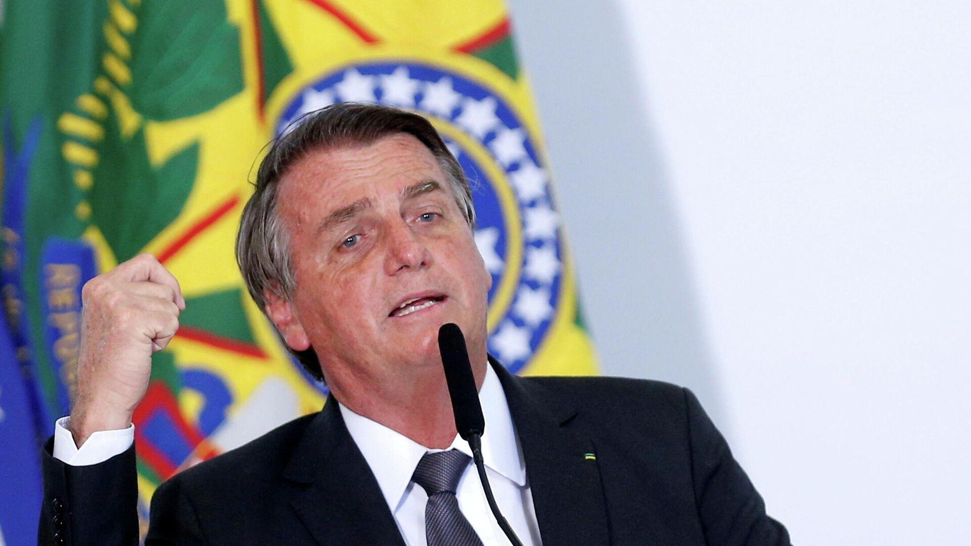 Jair Bolsonaro, presidente de Brasil - Sputnik Mundo, 1920, 02.08.2021