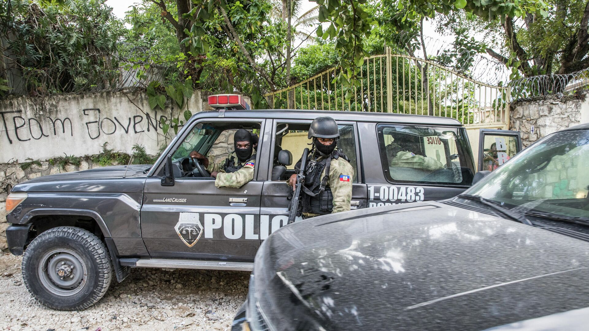 Policía de Haití - Sputnik Mundo, 1920, 27.07.2021