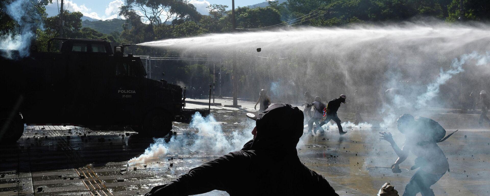 Protestas en Medellín, Colombia - Sputnik Mundo, 1920, 21.07.2021